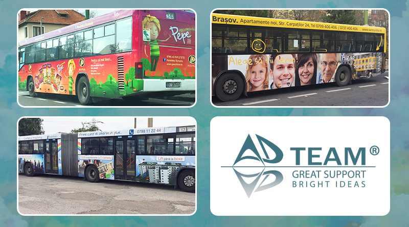 Reclamă pe autobuze în Brașov! Alegerea perfectă pentru promovarea afacerii tale