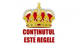 Conținutul este regele – o sintagmă a succesului în Google