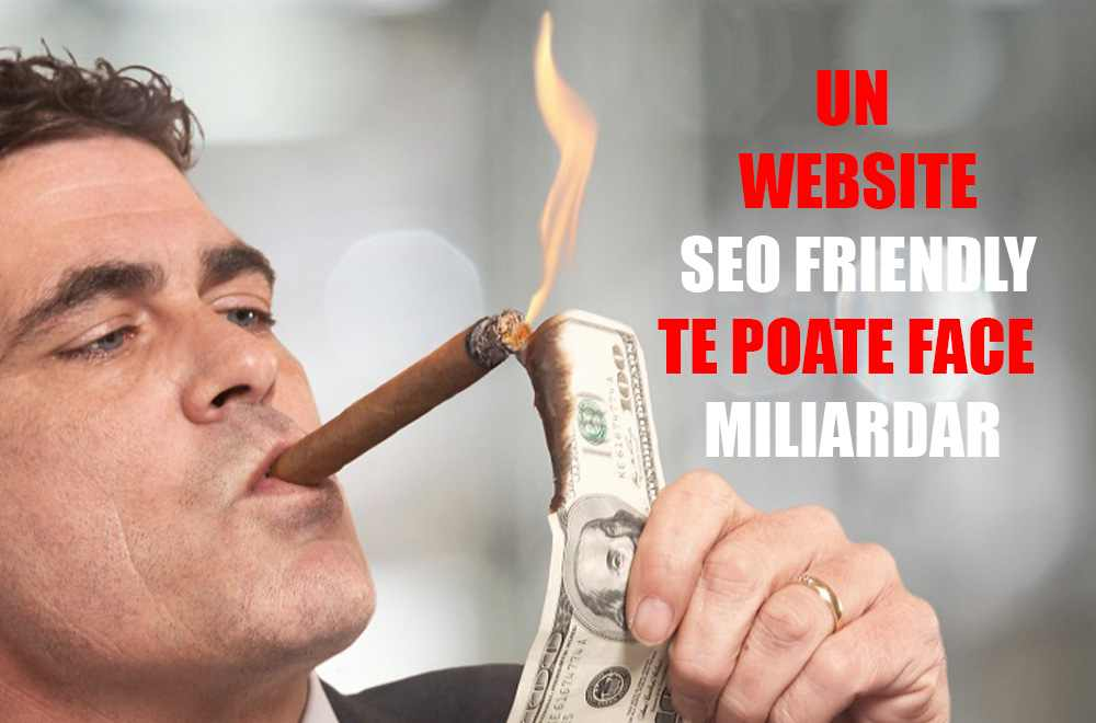 Un website seo-friendly te poate face miliardar!