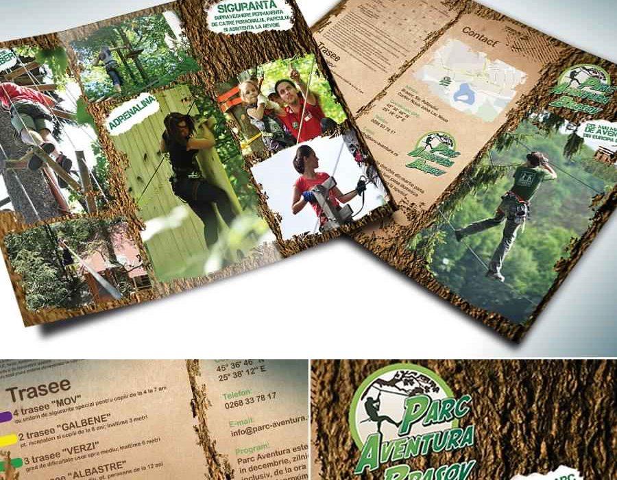 Pliante-pentru-Parc-Aventura.-Concept-grafica-print.