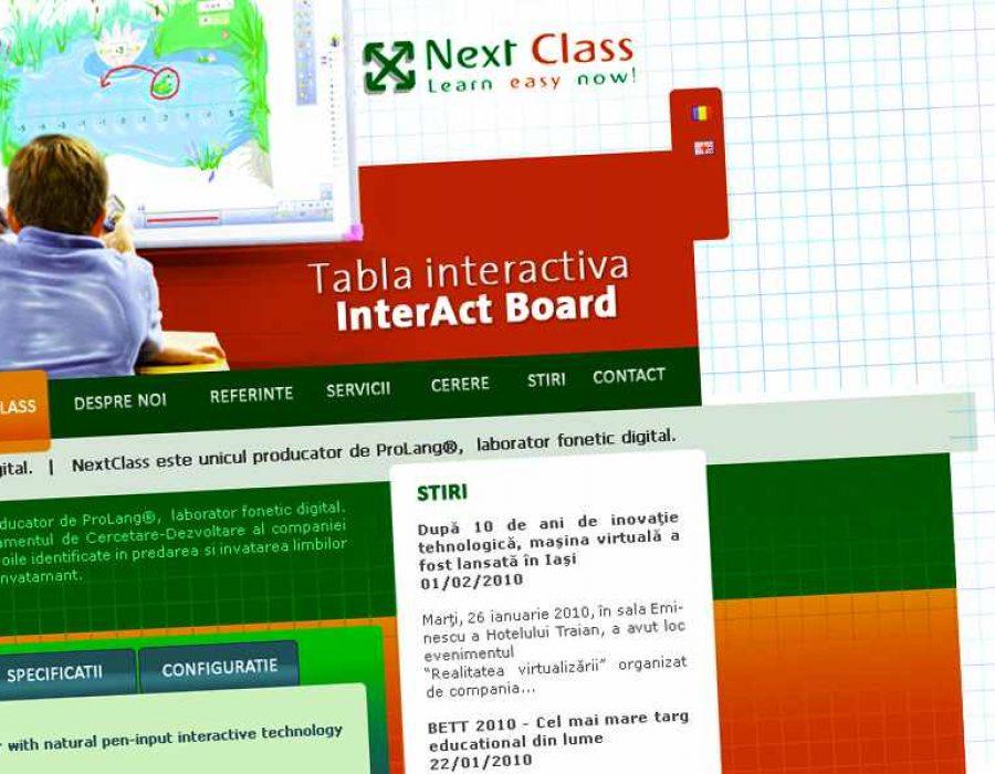 realizare-site-nextclass